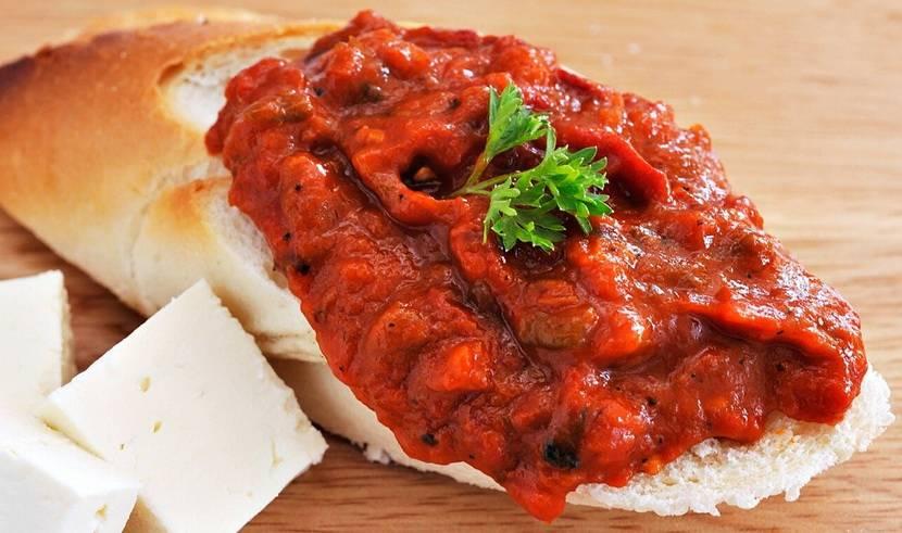 Лютеница по-болгарски рецепт на зиму с фото и видео
