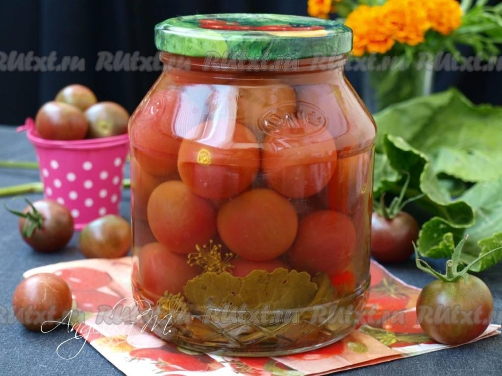 Заготовки из желтых помидоров на зиму