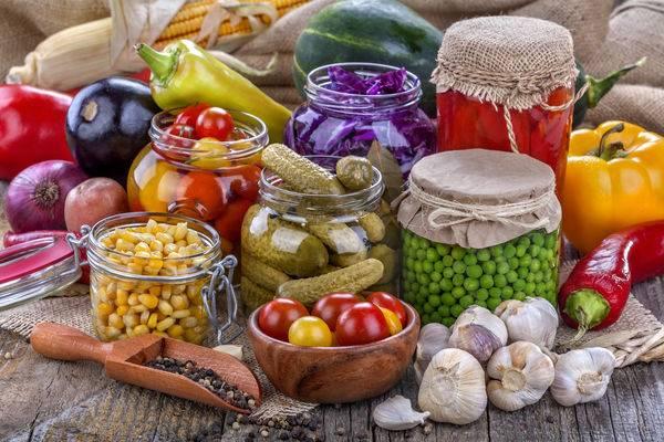Запеченные овощи на зиму в банках
