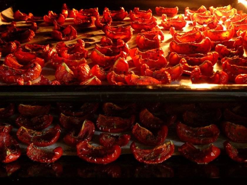 Вяленые томаты в домашних условиях