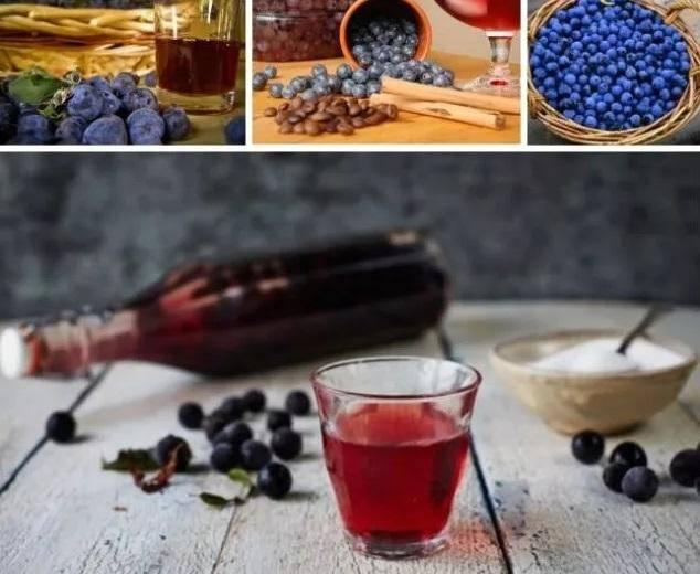 ТОП 8 простых рецептов приготовления вина из терна в домашних условиях