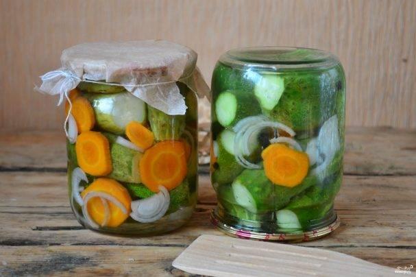 Салат из огурцов с укропом на зиму