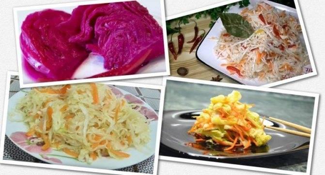12 лучших рецептов маринованной капусты быстрого приготовления