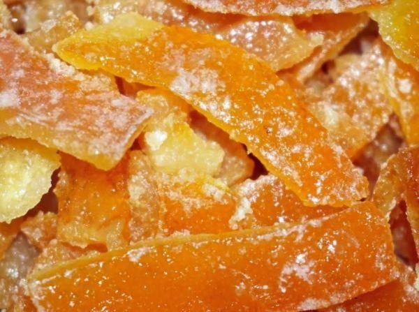 Как приготовить цукаты из апельсиновых и мандариновых корок по рецепту с фото
