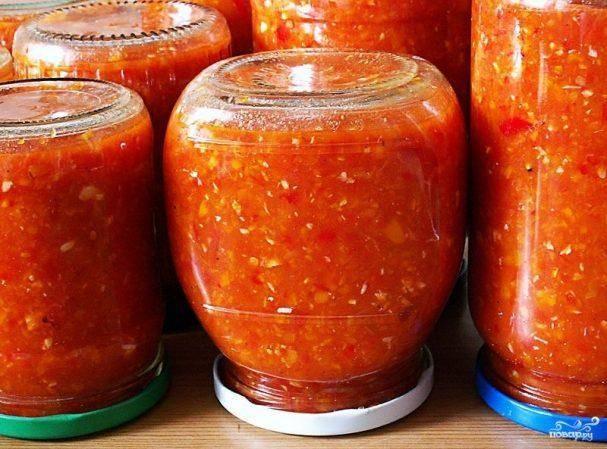 Аджика из помидор: самые вкусные варианты