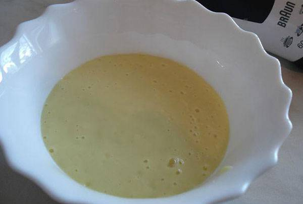 Пюре из кабачков с молоком