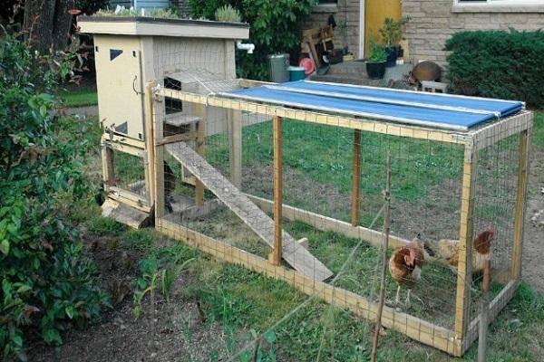 Мастерим загончик цыплятам