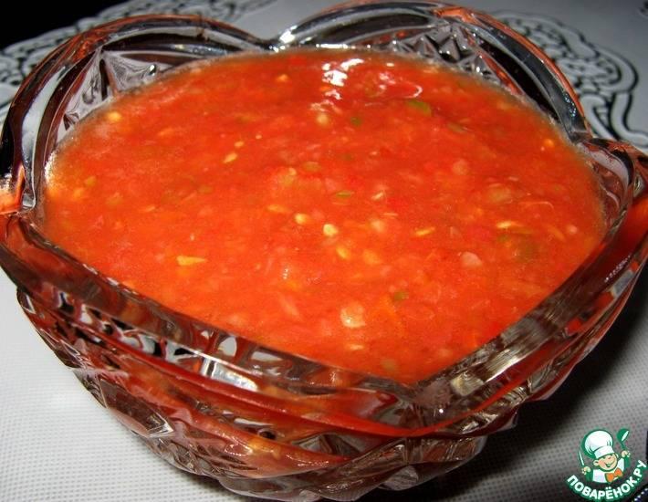 Как сделать «огонек» из помидоров на зиму: топ-7 рецептов