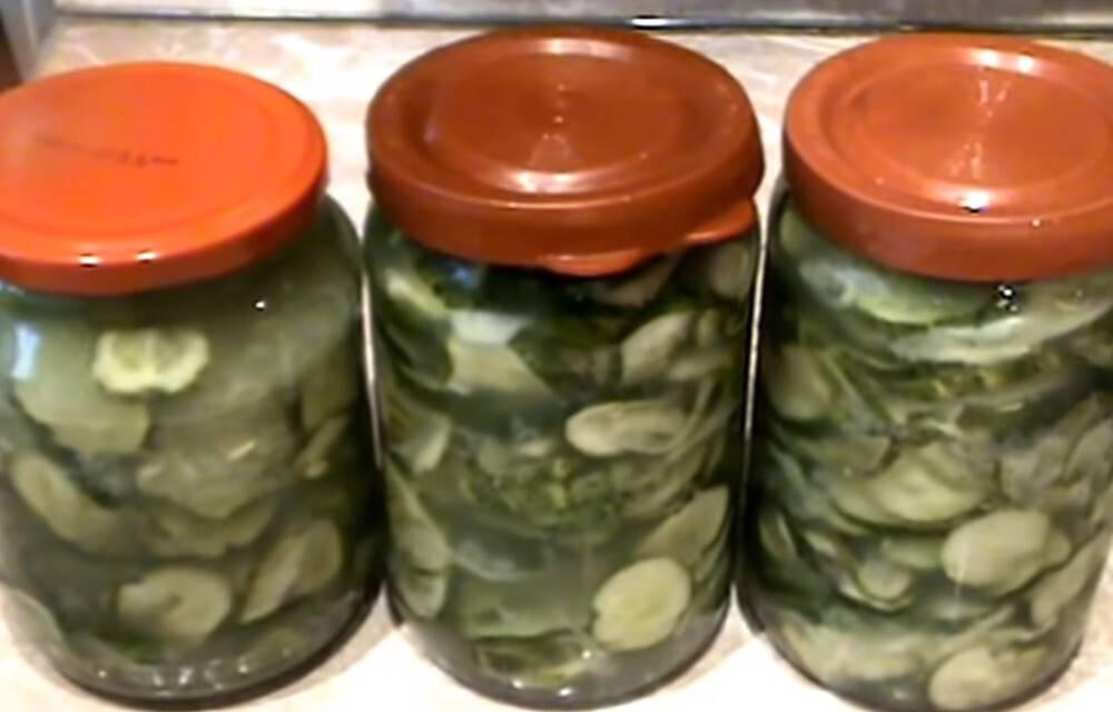 12 вкуснейших салатов из огурцов на зиму