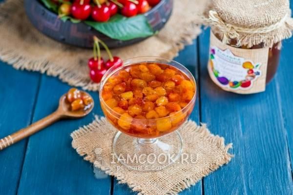 Простой рецепт приготовления варенья из черешни на зиму