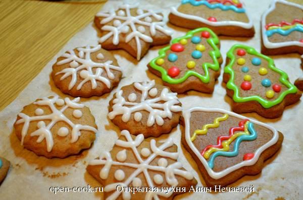 Топ 11 лучших рецептов новогоднего имбирного печенья в домашних условиях своими руками
