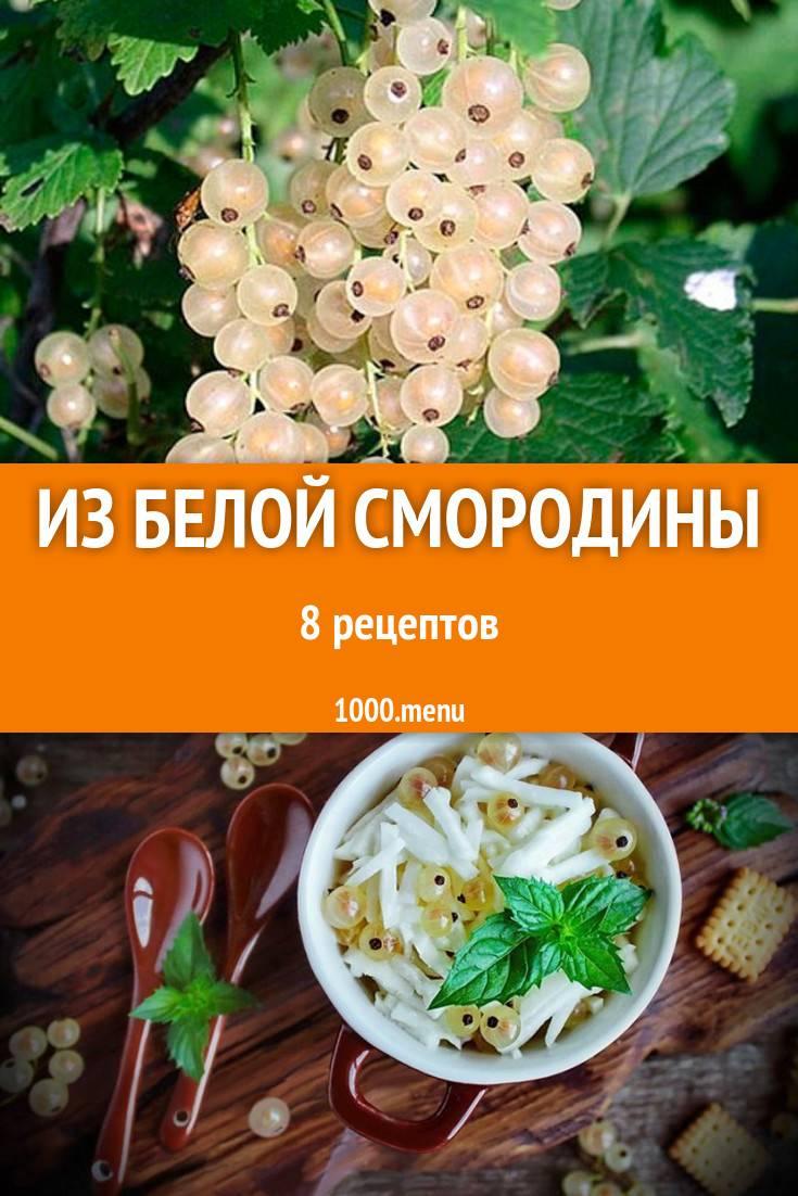Заготовки из черной смородины на зиму