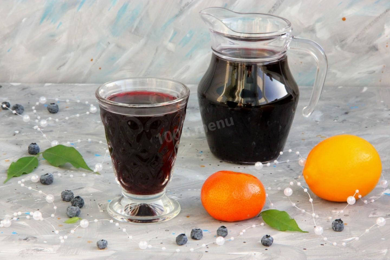 Рецепты черничных зимних заготовок: варенье, джем, компот, сок, замораживание и сушка ягод