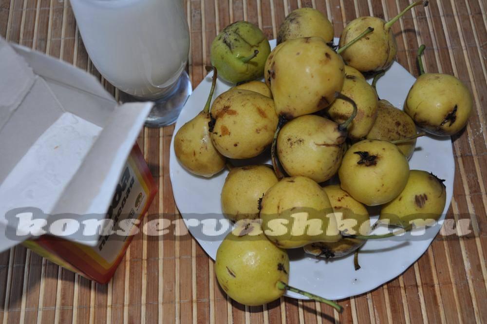 Топ 4 пошаговых рецепта приготовления варенья из зеленых груш