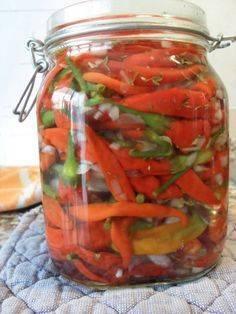 Перец в томатном соусе на зиму: рецепты