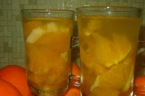 Полезные напитки из апельсинов на зиму