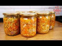 12 пошаговых рецептов приготовления закуски с рисом на зиму в домашних условиях