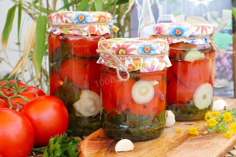 Маринованные помидоры без стерилизации на зиму