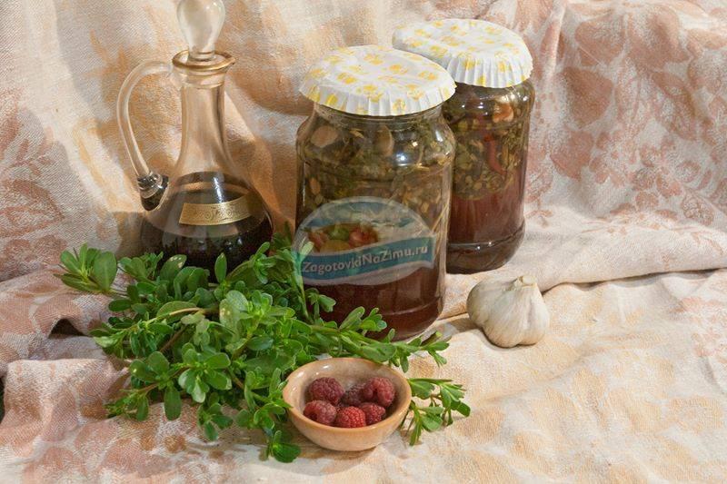 Портулак огородный рецепты блюд. маринованный портулак на зиму