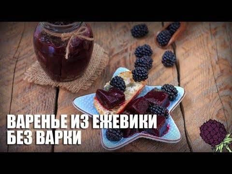 Ежевика с сахаром на зиму