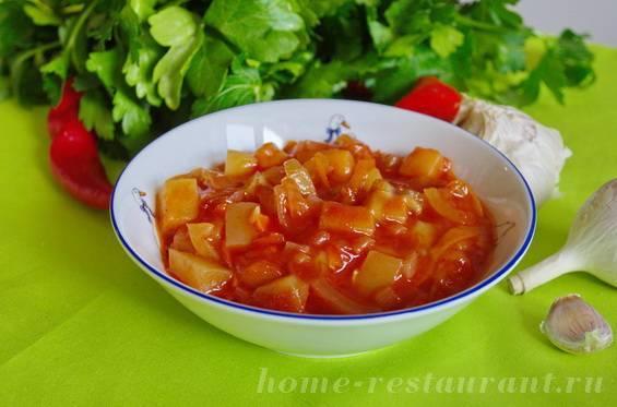 Кабачки в томате — вкусные и простые рецепты, моя семья обожает!