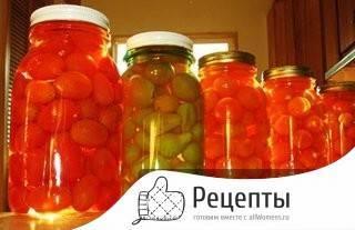 Маринованные помидоры на зиму — 7 рецептов в банках