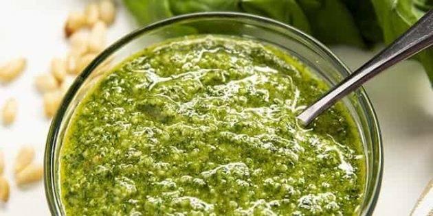 Классический соус песто и его родственники — 7+ вкусных рецептов