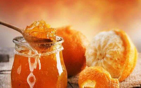 Варенье из мандаринов дольками и без кожуры