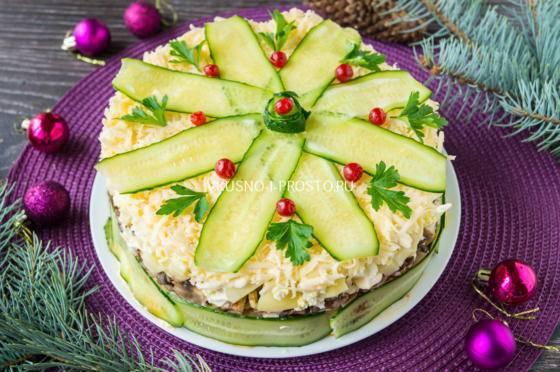 55 легких, вкусных и интересных рецептов закусок на Новый год