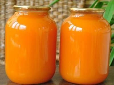 Тыквенный сок с апельсинами на зиму рецепт
