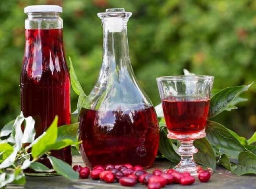 ТОП 2 рецепта приготовления кизилового вина в домашних условиях