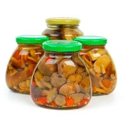 Срок и условия хранения маринованных грибов