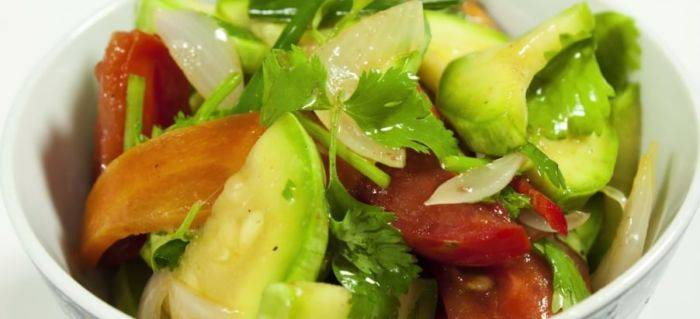 Кабачки по-корейски - 5 самых вкусных рецептов быстрого приготовления с фото пошагово