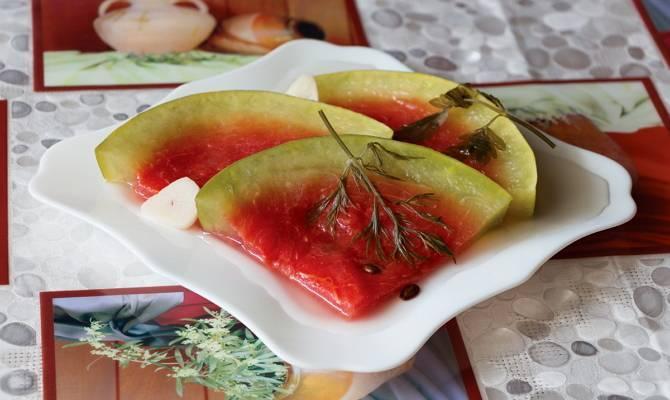 Как засолить арбузы в бочке на зиму