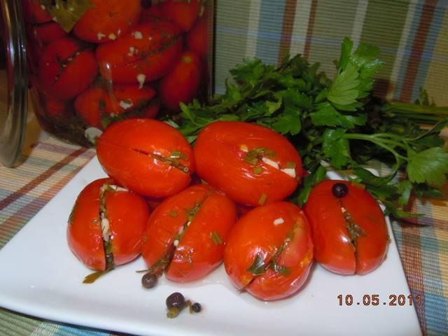 11 лучших пошаговых рецептов приготовления закусок из помидоров на зиму