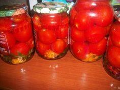 Маринованные помидоры на зиму в банках без стерилизации — ну очень вкусные рецепты!