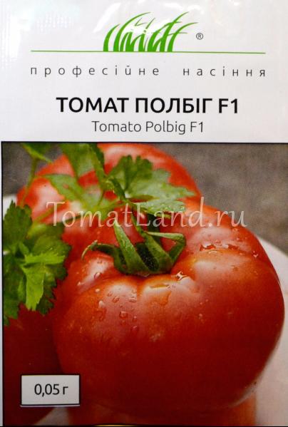 Характеристика и описание гибрида томата полбиг f1, выращивание