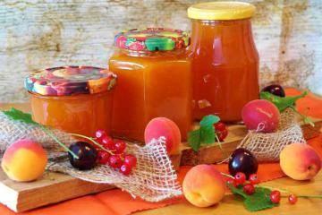 Варенье на фруктозе