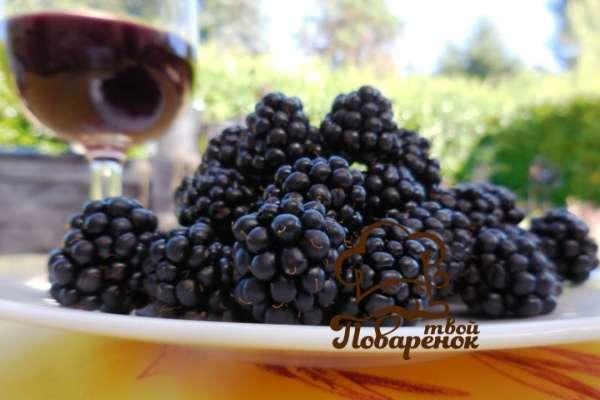 Как приготовить ежевичное вино в домашних условиях?