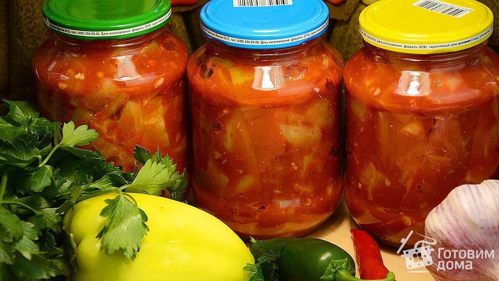 Баклажаны с помидорами на зиму: лучшие рецепты приготовления— супер закрутка!