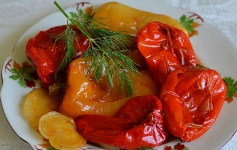 9 лучших рецептов заготовок из печеных овощей на зиму