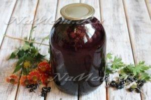 Простой рецепт приготовления компота из ежевики на зиму
