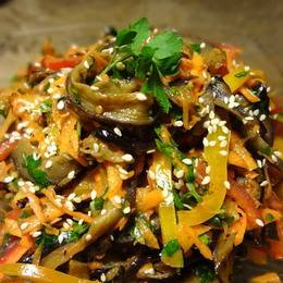 Быстрые рецепты приготовления баклажанов по-корейски на зиму