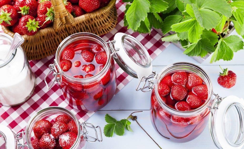 Варенье из клубники с целыми ягодами (лучшие рецепты густого клубничного варенья)