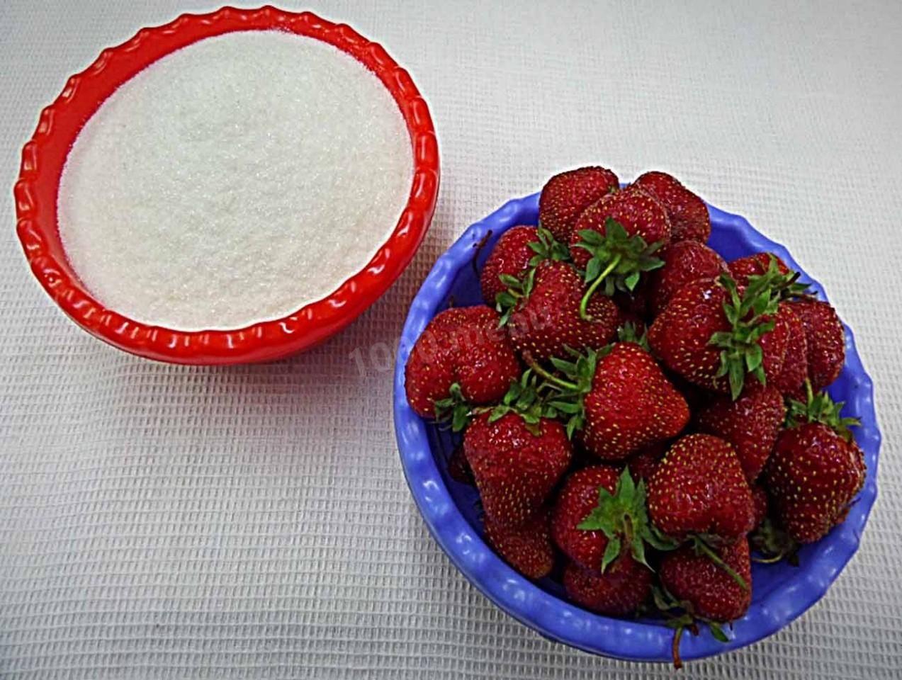 Топ-6 лучших рецептов клубники с сахаром без варки