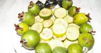 Фейхоа с медом и лимоном