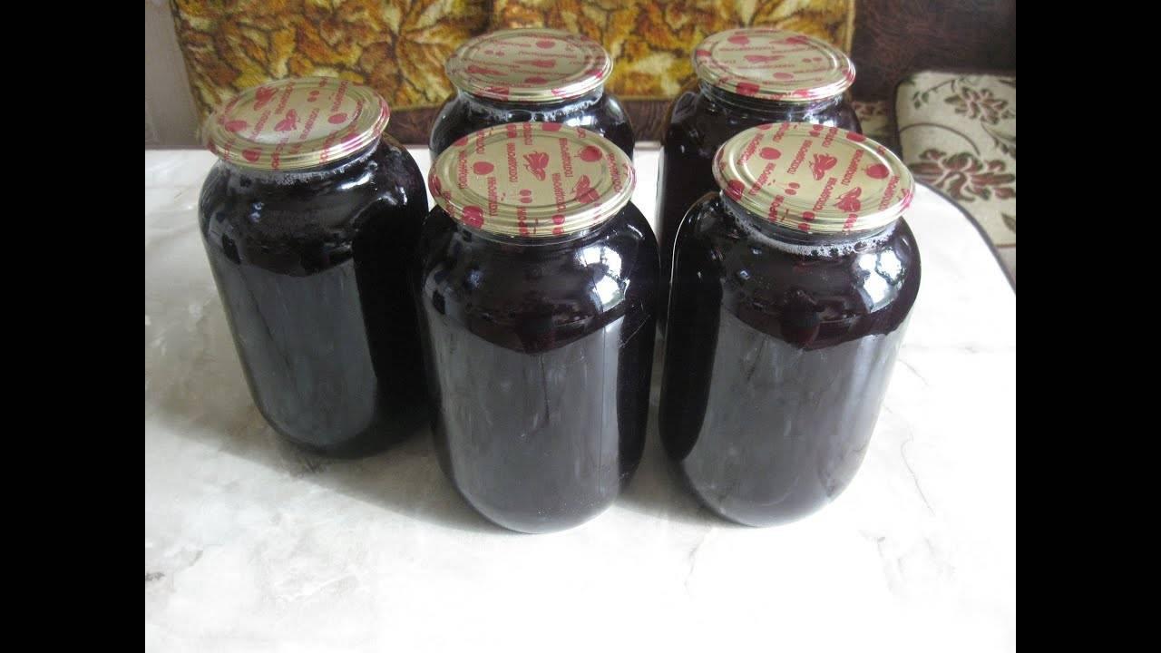 Заготовки из винограда на зиму