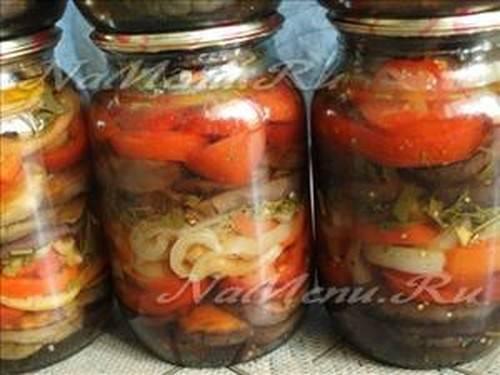 3 лучших рецепта приготовления жареных баклажанов с чесноком на зиму