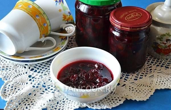 18 простых рецептов приготовления варенья из вишни на зиму