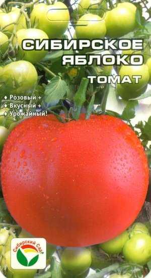 Ещё один замечательный тепличный сорт томатов «сибирское яблоко»: его характеристики и описание